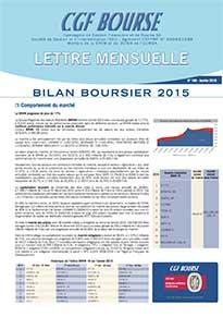 bilan boursier 2015