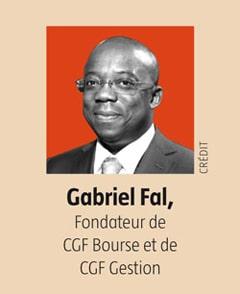 Gabriel FAL, Président de CGF Bourse et de CGF Gestion