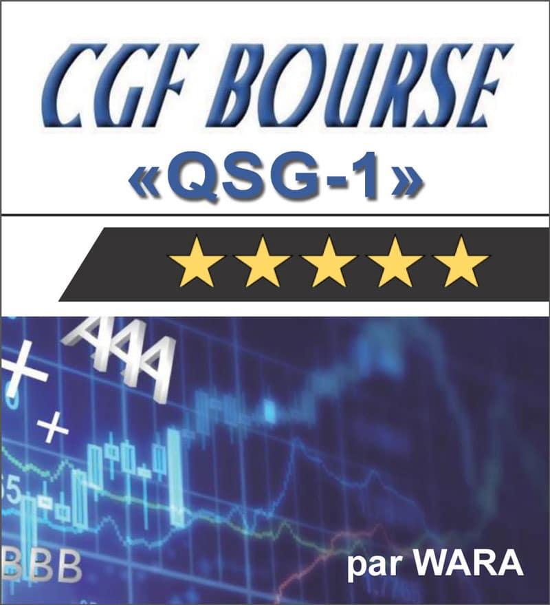 Notation CGF Bourse en Qualité de Gestion